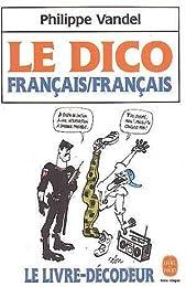 Le  dico français-français