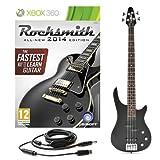 Rocksmith 2014 Xbox 360 + Guitare basse Miami Noir