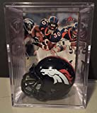 Denver Broncos NFL Helmet Shadowbox w/ Terrell Davis card