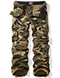Match Mens Woodland Military Cargo Pants