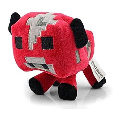 Funsion Minecraft 65 Mooshroom Plush Toy Stuffed Doll from Minecraft