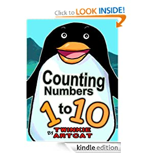 Counting Numbers 1 to 10 (Pre-school Learning) Ng Siow Boon and Twinkie Artcat
