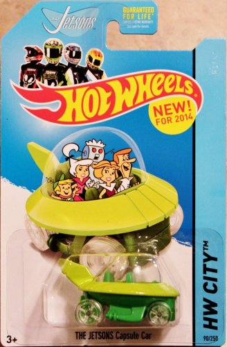 2014 Hot Wheels Hw City - The Jetsons Capsule Car