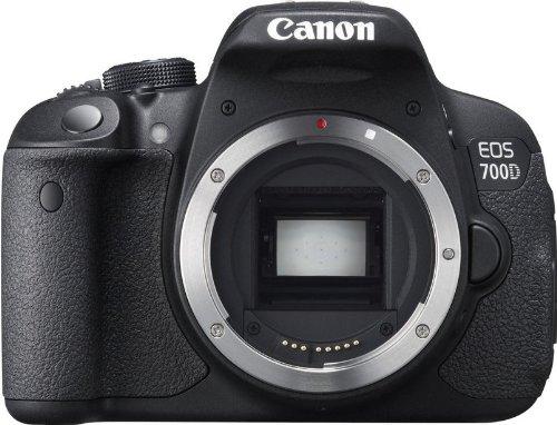 Canon Eos 700D 18Mp Digital Slr Camera (Black) (Body Only)