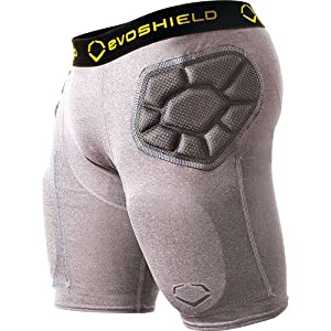 Evoshield Hybridpro Girdle - Mens ( sz. XL, Graphite ) by EvoShield