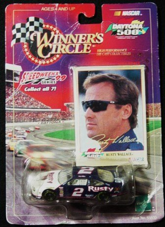 Winners Circle 1/64 scale die cast Rusty Wallace #2 Speedweeks series 1999 Daytona 500 - 1