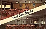 French Coffee Shop Inc Cuyahoga Falls Ohio Original Vintage Postcard