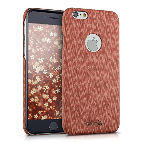 kalibri-Holz-Case-Hlle-fr-Apple-iPhone-6-6S-Handy-Cover-Schutzhlle-aus-Echt-Holz-und-Kunststoff-aus-Abachiholz-in-Rot