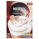 Nescafé Café Menu Cappuccino Strong 14.5 g (Pack of 6, Total 60 Sachets)