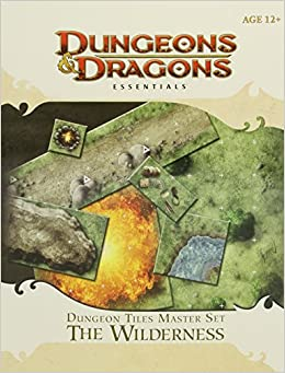 Dungeon Tiles Master Set - The Wilderness: An Essential Dungeons