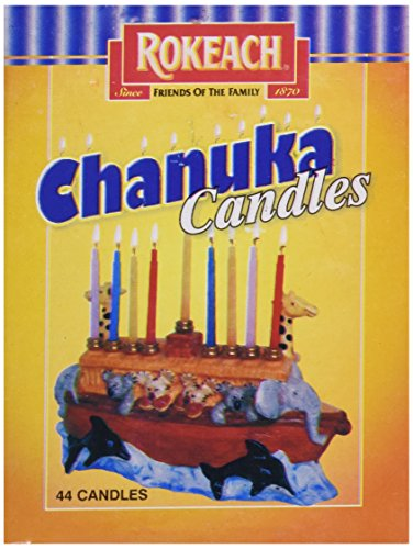 Rokeach Candle Chanukah, 44 ct