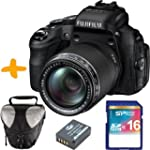 Fuji HS50 EXR Digitalkamera + 16GB Sp...