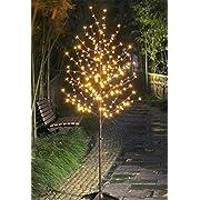 Lightshare LED Blossom Tree, 6-Feet, Warm White