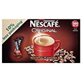 200 Nescafe Original Individual Coffee Sticks
