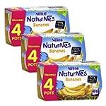 B�b� Nestl� Naturnes Bananes - Compot...