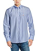 POLO CLUB CAPTAIN HORSE ACADEMY Camisa Hombre Gentle White Trend (Azul)
