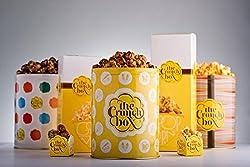 The Crunch Box Holy Smokes Wasabi Popcorn Tin - 100 Gms