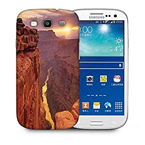Snoogg Lake View Mountain Designer Protective Phone Back Case Cover For Samsung Galaxy S3