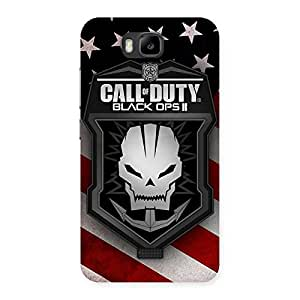Special Duty Calling Back Case Cover for Honor Bee