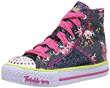 Twinkle Toes By Skechers S Lights Shuffles Summertime Kicks Blue 10 UK
