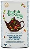 English Tea Shop Super Rooibos Acai Pomegranate 60 Tagged Tea Bags (Pack of 2)