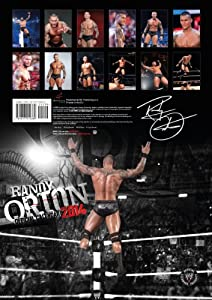 WWE Randy Orton 2014 Official Calendar