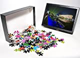 Photo Jigsaw Puzzle of A night time ligh...