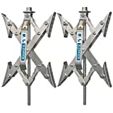 X-Chock Wheel Stabilizer - Pair - One Handle - 28012 ~ BAL R.V. Products Group