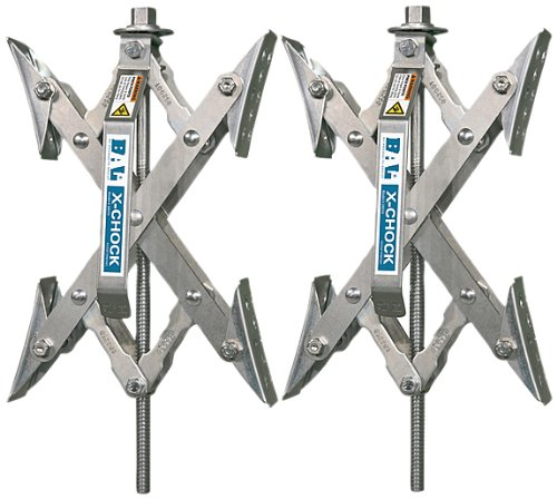 X-Chock Wheel Stabilizer - Pair - One Handle - 28012 (Camper Wheel Chocks compare prices)