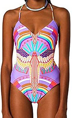 Akee African tribal print one piece swimwear by GoldenAcreTM