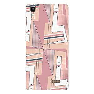 Garmor Designer Silicon Back Cover For Reliance Lyf Wind 6