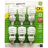 GE 23 Watt Energy Smart CFL - 100 Watt Replacement (pack of 6)