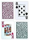Copag Poker Size Jumbo Index 1546 Playing Cards Green Burgundy