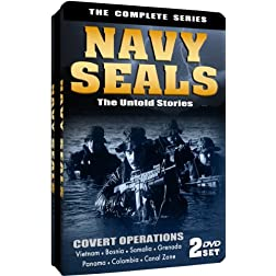 Navy Seals: The Untold Stories - The Complete Series Embossed Slim-Tin Packaging