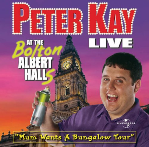 Peter Kay - Live at Bolton Albert Halls [AUDIOBOOK]