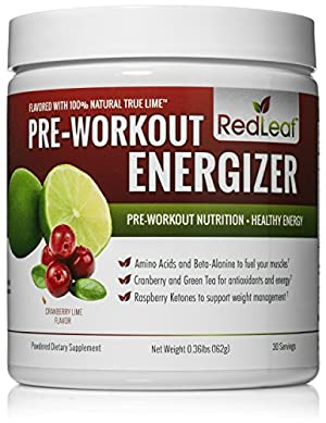 Red Leaf Pre-Workout Energizer