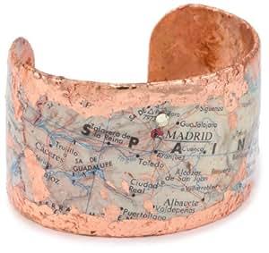 """EVOCATEUR """"Voyages"""" Espana Cuff Bracelet"""