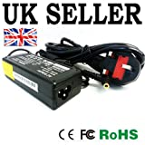 FOR SAMSUNG R510 R530 R719 LAPTOP CHARGER AC ADAPTER 19V 3.16A 60W MAINS BATTERY POWER SUPPLY UNIT with UK MAINS LEAD