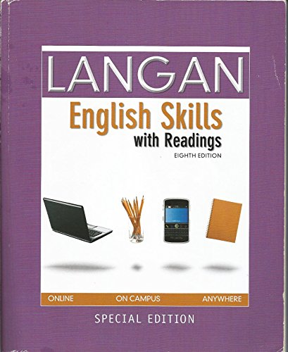 Langan English Skills with Readings (with connect access code)