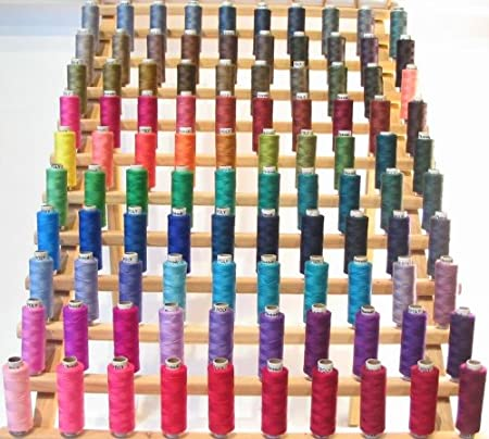 New Threadsrus 200 Spools of Polyester sewing quilting thread - Assorted Colors