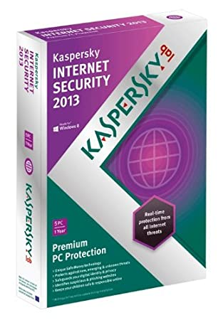Kaspersky Internet Security 2013 (5 PC, 1 Year subscription) (PC)