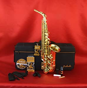Amazon Com Prelude Student Model As711 Alto Saxophone By