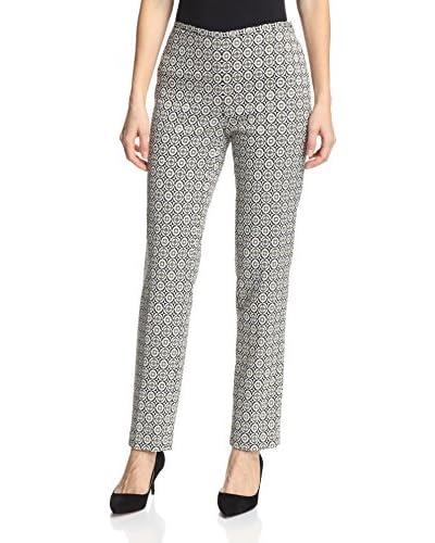 J. McLaughlin Women's Foxxy Slim Fit Printed Pant