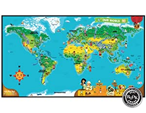 Leapfrog Tag World Map Activity Board from LeapFrog