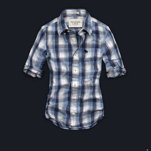 アバクロンビー&フィッチ Abercrombie アバクロ メンズ チェックシャツ 長袖シャツ ネルシャツ サイズM afms069 【並行輸入品】
