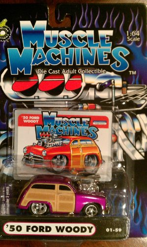 Muscle Machines 50 Ford Woody purple 01-59 - 1