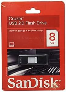 SanDisk Cruzer 8 GB USB 2.0 Flash Drive (SDCZ36-008G-A11)