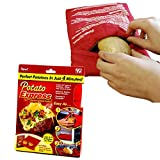 CPEX Potato Express Microwave Baked Potato Cooker Express Cooking Bag Potato Express Microwave Cooker For Boil Potato in Microwave without water