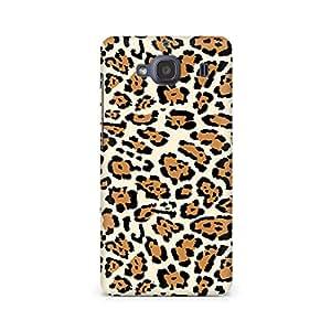 Motivatebox- Leopard Print Premium Printed Case For Xiaomi Redmi 2s -Matte Polycarbonate 3D Hard case Mobile Cell Phone Protective BACK CASE COVER. Hard Shockproof Scratch-