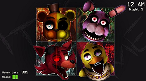 Bas - Stampa decorativa Five nights at Freddy's